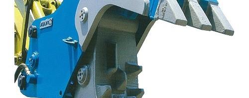 油圧式小割機